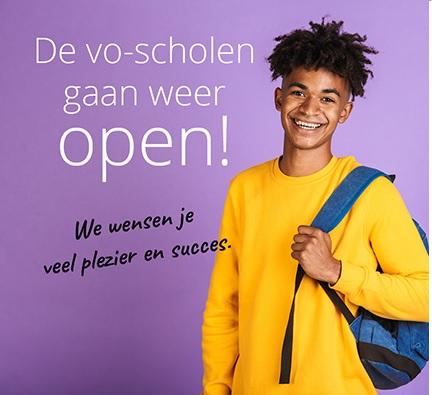 vo scholen weer open